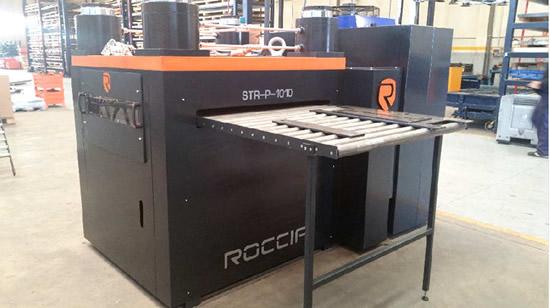 Maquinaria aplanadora de chapa Roccia STR