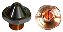 Tecnysider suministra Boquillas dobles para maquinaria láser
