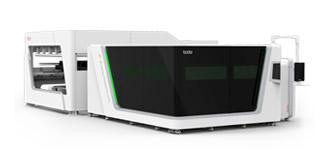 Máquina de corte por láser de fibra de inversión conteinda - Serie PA
