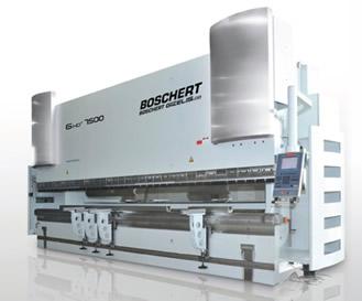 Tecnysider suministra máquinas hidráulicas plegadoras de chapa Borschert - Gizellis G-HD