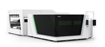 Máquina de corte por láser de fibra de inversión conteinda - Serie P-A