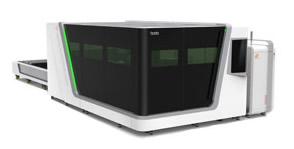 Máquina de corte por láser de fibra de inversión conteinda - Serie P