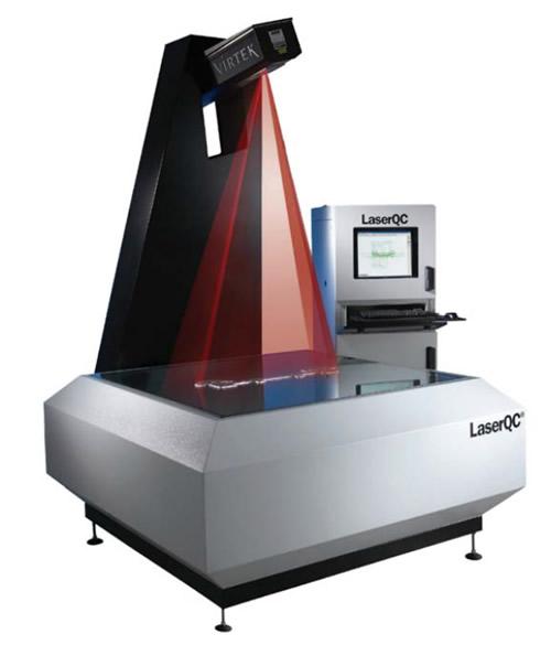 Máquina de control de calidad Láser QC