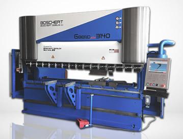 Tecnysider suministra máquinas hidráulicas plegadoras de chapa Borschert - Gizellis G-Bend Plus