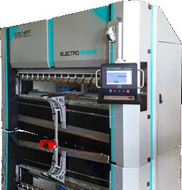 Tecnysider suministra máquinas eléctricas plegadoras de chapa Borschert - Gizellis G Electro Brake