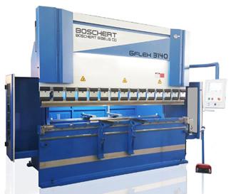 Tecnysider suministra máquinas hidráulicas plegadoras de chapa Borschert - Gizellis G-Flex